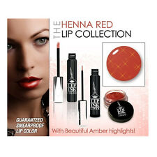 LIP INK® Organic 100% Smearproof Liquid Lip Kit - Henna Red Collection