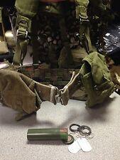 1958 webbing belt kit, Grade 2 belt, ammo, kidney, waterbottle pouch Battle Look