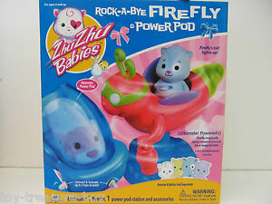 Zhu Zhu Babies - Rock-a-Bye FireFly with Power Pod - Ages 4 and up