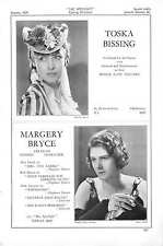 1939 Toska Bissing Margery Bryce Judy Campbell Honorine Catto