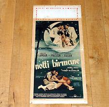 NOTTI BIRMANE locandina poster Dorothy Lamour Preston Moon over Burma Palma F42