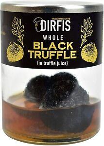 Whole Black Truffles by Dirfis 50g