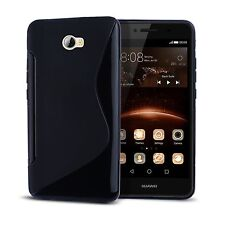 Black Fitted Cases and Skins for Huawei Mobile Phone