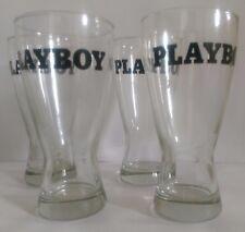 Playboy glasses - Schooner set of 4