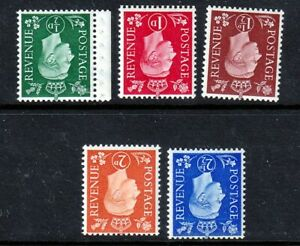 SG462Wi-466Wi 1937 Inverted Set UNMOUNTED MINT(506)
