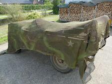 4.0x3.3m Tarnnetz Camouflage Netz für Tarnung US Willys Jeep / Jagdsitz Hochsitz