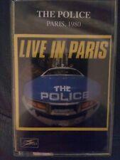 The Police - París 1980 - Cassette