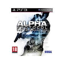 Alpha Protocol PS3 PlayStation 3 Play 3 5055277001491