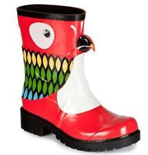 JuJu x Kigu Parrot Womens Fashion Wellie Mid-Calf Ankle Wellington Boots