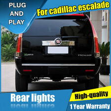 For Cadillac Escalade Dark / Red LED Rear Lamp Assembly LED Tail Light 2007-2014