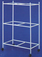 """3 Tiers Stand For 30'x18'x18""""H Aviary Bird Flight Breeding Cages"""
