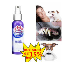 Pet Spray Dog Oral Care Bad Breath Teeth Cleaning Breath Fresh Plaque-Remover
