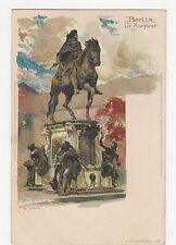 Germany, Berlin, Gr. Kurfurst, Kley Chromo Art Postcard, B044