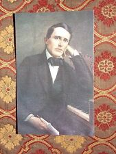 Vintage Postcard Stephen Foster Portrait In My Old Kentucky Home, Bardstown, Ky.
