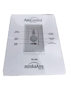 Minka Aire Fan Wall Remote Control WC400 6Speed Reverse Full Range Light Dimmer