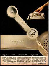 1964 Princess Phone New Bell Western Electric vintage print ad