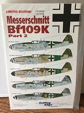 Cutting Edge 1/48 #CED480786 & CED72086 Messerschmitt Bf109K. Part 2