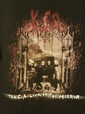 KORN PRE-OWNED Take A Look In The Mirror Size Large Black T-Shirt