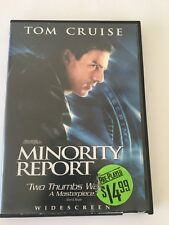 Minority Report (Dvd 2002 2-Disc Set Widescreen) By Tom Cruise Free Us Shipping!