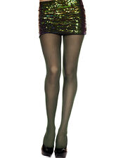 Womens Sheer Knit Winter Vertical Striped Ribbed Tights Stockings Pantyhose OS