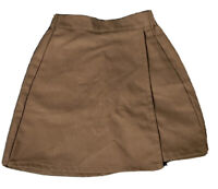 Girl Scouts of America Brownie Brown Official Uniform Skort Size XS New
