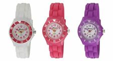 Ravel children boy girl Sports Silicon Sports Watch White Pink Purple