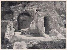 D2320 Agnano - Ruderi delle Terme - Stampa d'epoca - 1925 vintage print