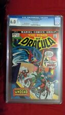 Tomb of Dracula #11 CGC 6.0 OW Pages Dracula Strikes Again Marvel Bronze Age