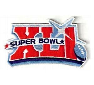 as seen NFL SUPER BOWL XLI SB 41 COLTS vs BEARS iron-on GAME PATCH