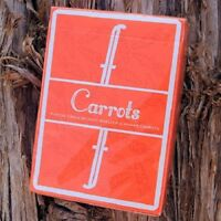 Fontaine Carrots Edition Playing Cards Very Limited Edition Deck by Zach Mueller