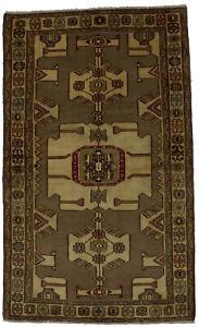 Handmade Tribal Design Vintage 4X7 Wool Foyer Rug Oriental Home Decor Carpet