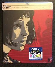 LEON THE PROFESSIONAL Blu-Ray SteelBook Best Buy Exclusive Extended New OOP Rare