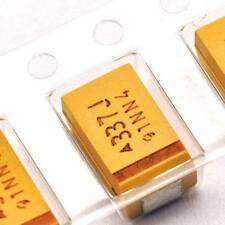 5PCS 6.3V 330UF D case 337J ±10% SMD Tantalum Capacitors 7343 7.3mm×4.3mm