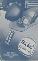 Vintage 1970's THIOKOL DISC BRAKE PADS IMSA Brochure