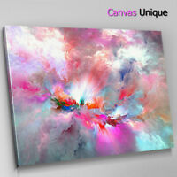 hanging decorations A748 Funny Dog Puppy Black Pink Funky Animal Canvas Wall Art Large Picture Print
