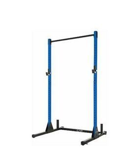 CAP Barbell Power Rack Exercise Stand Squat Rack Pull Up Bar  Blue