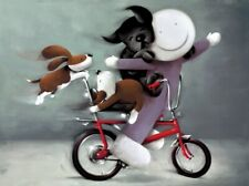 Riding High by Doug Hyde Mounted Limited Edition Print