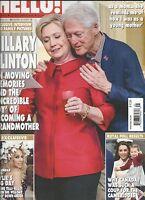 Hello Magazine Hillary Bill Clinton Kate Middleton Kylie Minogue Helen Glover