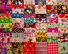 """60 Asrt. *I Spy"""" Novelty Scrap Fabric Charm Pack, 5"""" Top Name Brands* Quilting="""