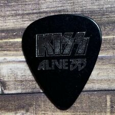 Kiss army guitar tuning pick heavy metal Alive 35 concert tour Ace Frehley black