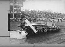 DON GARLITS IN HIS STREAMLINER AT OCIR   8X12 DRAG RACING PHOTO
