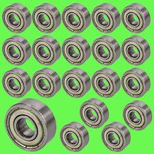 ► 20 Stk 606 ZZ Kugellager 6 x 17 x 6 mm Miniatur Lager Rillen RepRap Mendel
