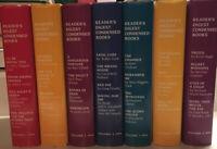 Lot of 7 1994, 1995 Vintage Readers Digest Condensed Books Home Decor Staging