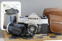 Soviet camera KIEV 15 Lens HELIOS- 81 (2/53) + Lens Jupiter- 9 (2/85) + Jupiter