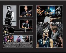 New Bruce Springsteen Limited Edition Memorabilia Framed