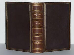 EMILE ZOLA LA DEBACLE EDITION ORIGINALE EXEMPLAIRE NUMEROTE SUR HOLLANDE 1892