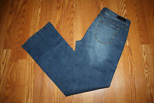 NWT Womens !It Collective Marty Corset Slim Boot Cut Medium Wash Jeans Size 10