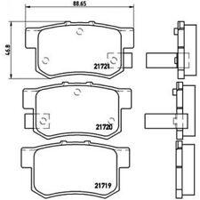 BREMBO Brake Pad Set, disc brake P 28 022