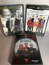 Dvd Lot Of 3 Drama Movies - Get Shorty, Erase & The Usual Suspects.