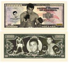 2016 Muhammad Ali 1 Million Dollars Color Novelty Money Note Limited Edition